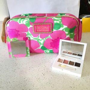 NEW Lily Pulitzer Make Up Bag Estée Lauder Make Up